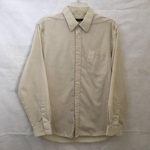 G2000 Light Beige Men's Button Down Shirt